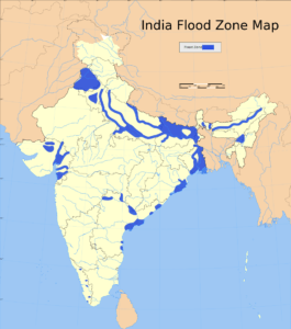 Flood Zone Map of India