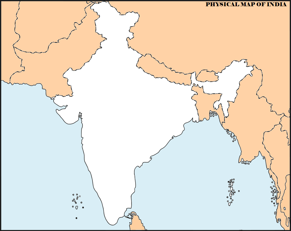 map of india political showing tropic cancer