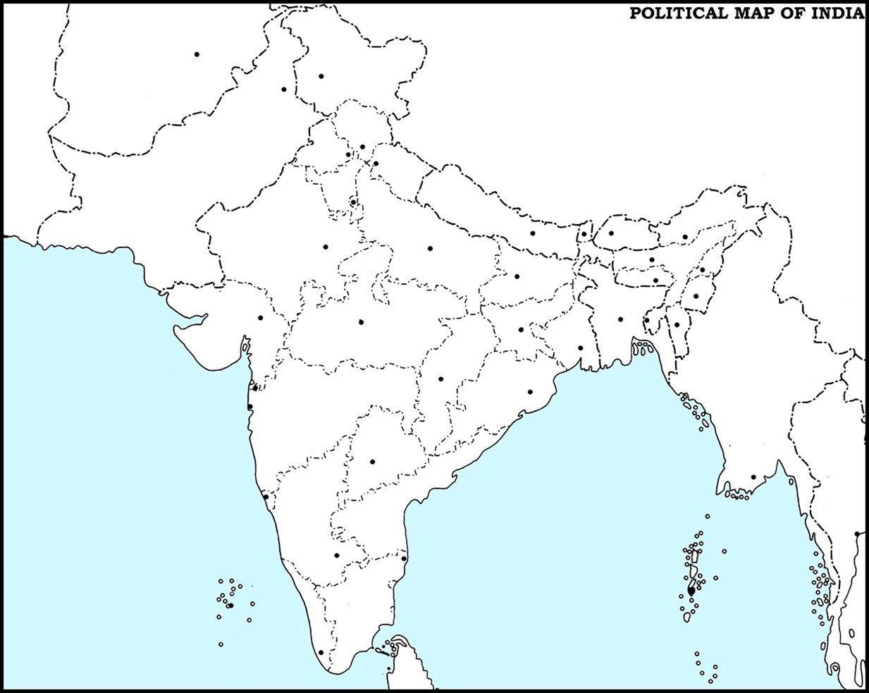 14 Important Maps Of India Physical And Political Map Best Of India