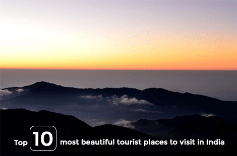 Top 10 most beautiful tourist places to visit in India
