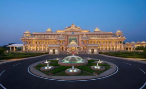 Expensive hotel in India