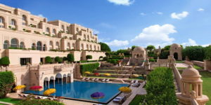 The Oberoi Hotel - Amarvilas, at Agra