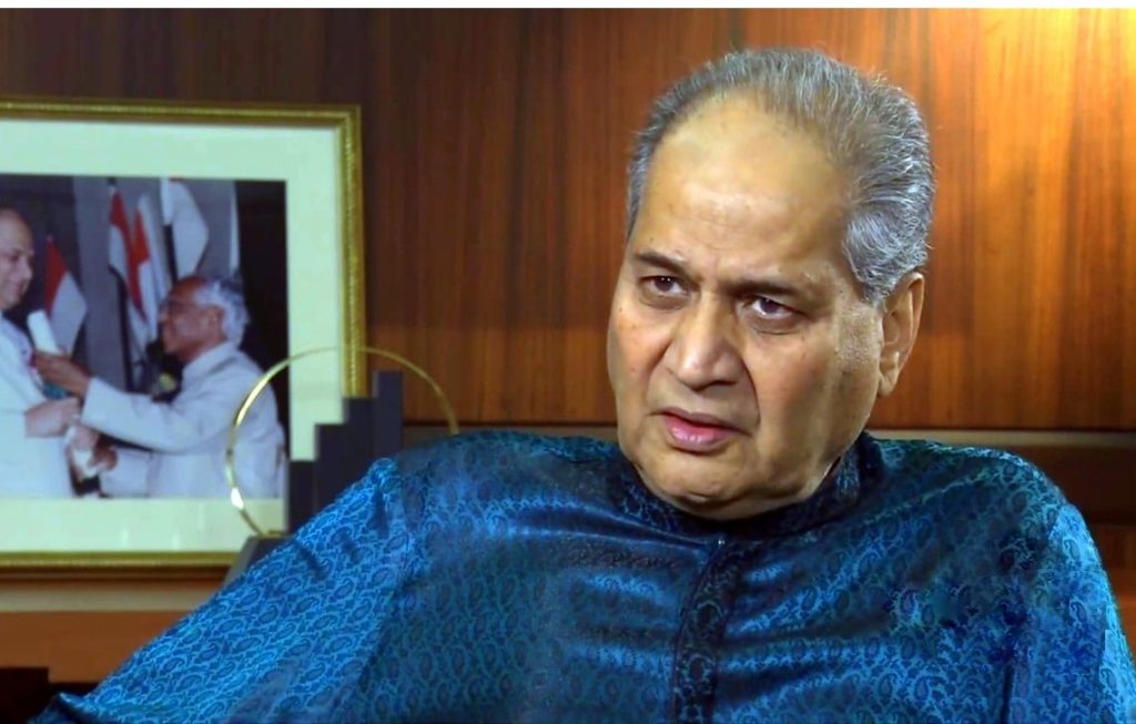 Rahul Bajaj, successful entrepreneur