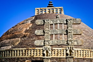 Sanchi_Stupa_Image from_front_side