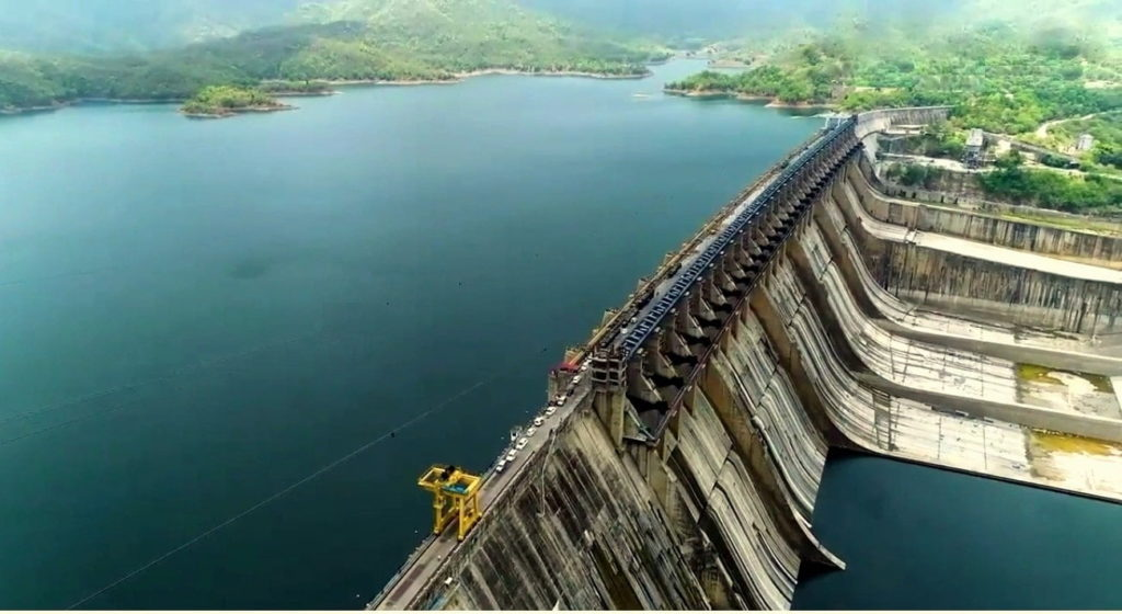 Sardar Sarovar Dam in India