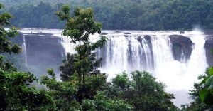 Beautiful Athirapally Falls