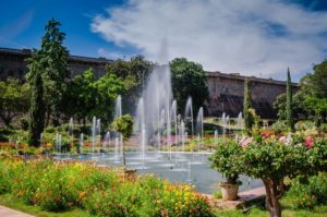 Brindavan Garden is visited by approximately 2 million tourists every year.