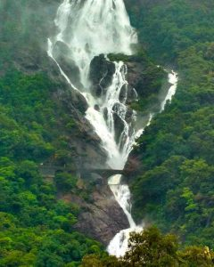 Beautiful Dudhsagar Falls