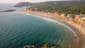 Beautiful view of Kovalam