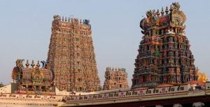 Meenakshi Temple in Tamil Nadu