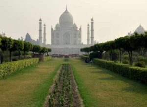 Mehtab Bagh is a square-shaped garden and was built by the first Mughal emperor Babur.