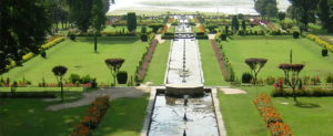 Nishat Garden comprises of 12 terrace structures.