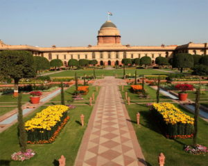 The Presidential Gardens is also known as Rashtrapati Bhavan Gardens.
