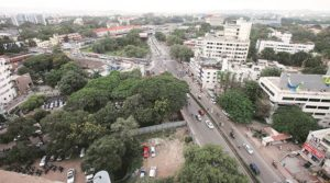 Pune ranks 9th in the list of most populated cities of India.