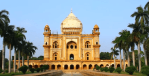 Safdarjung's Tomb garden is situated in the national capital, Delhi.