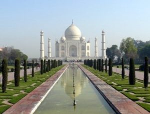 Taj Mahal Gardens is situated in Agra