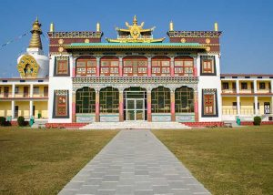 Maginicent architecture of Mindrolling Monastery