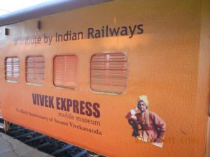 The route followed by the Vivek Express is the longest railway route in India.