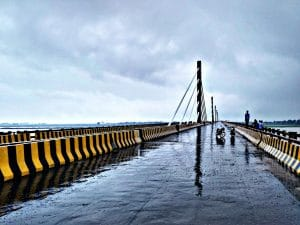 Strategically built Arrah-Chhapra Bridge