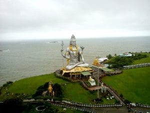 Beautiful statue of Lord Shiva at Murudeshwara