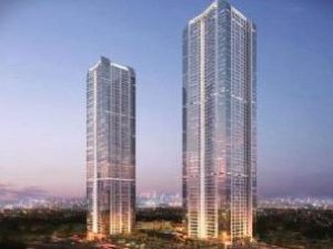 Twin residential towers at Ahuja Towers
