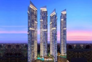 four towers of Auris Serenity Tower