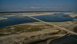 Spatial view of Dhola Sadiya Bridge