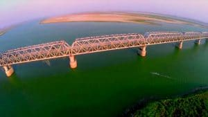 Panoramic View of Digha-Sonpur Bridge