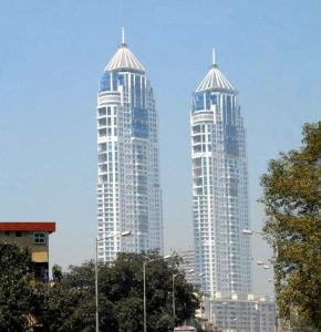 Twin towers of The Imperial