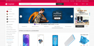 snapdeal affiliate page