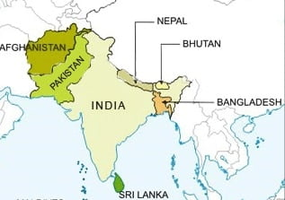8 Neighbouring Countries of India.