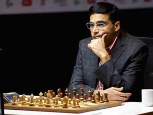 Vishwanathan Anand Playing Chess