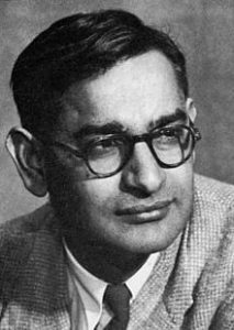 Youthful image of Har Gobind Khorana