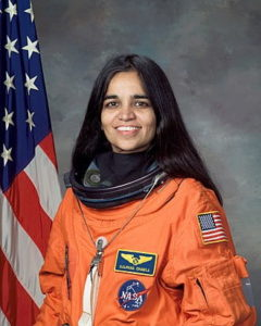 Portait of Kalpana Chawla