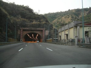 Kamshet Tunnel in operation