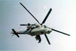 Mi35 Attack Helicopter