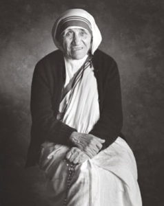 Beautiful portrait of Mother Teresa
