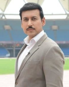 Portrait of Colonel Rajyavardhan Rathore