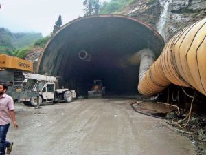 Rohtang Tunnel in Himachal