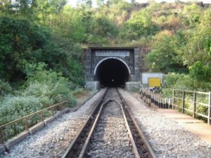 Sarvade Tunnel of the Konkan rails