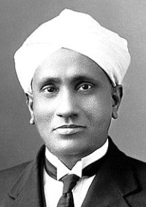 Sir CV Raman when he was young