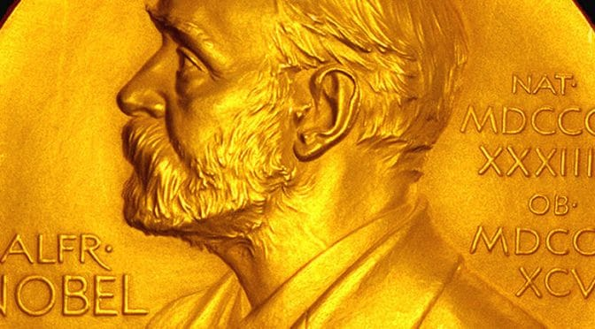 Alfred Nobel on the Nobel Prize