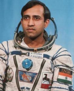 Before space travel, rakesh sharma