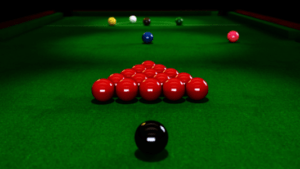Table of snooker