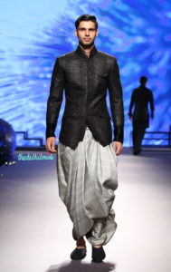 Dhoti is worn by men across India and is quite famous among Americans.