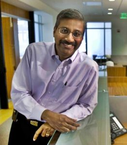 Kavitark Ram Shriram is one of the founding board members and the initial investors in tech giant Google.