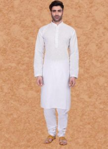 Kurta-Pyjama look is extremely popular among Indian men.