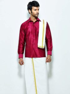 Lungis are available in silk material as well as cotton and are comfortable to wear.
