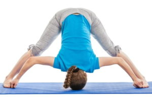 Prasarita Padottanasana involves making a wide-legged forward fold position.