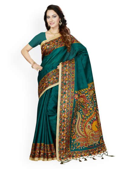 A perfect sari for every occasion.